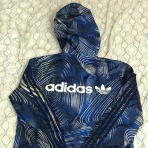 Adidas Geology Windbreaker Track Jacket Trefoil
